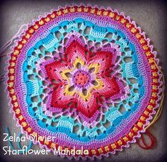 Starflower Mandala:   Pattern