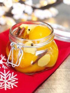 pêssegos para o natal
