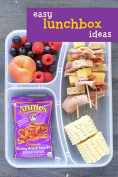 Find yourself constantly on the hunt for new school lunch ideas to mix things up? Try serving lunch in a bento box, with the help of Annie's snacks to keep lunchtime hoppy and organic!