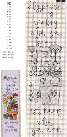 Cross-stitch Happiness is. Cross Stitch Bookmarks, Cross Stitch Books, Cross Stitch Flowers, Cross Stitch Charts, Funny Cross Stitch Patterns, Cross Stitch Designs, Cross Stitching, Cross Stitch Embroidery, Michael Powell Cross Stitch