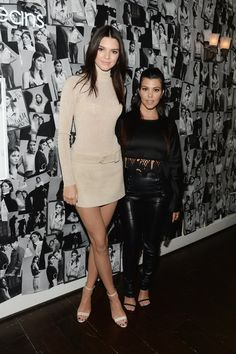 Pin for Later: Last Night's Kardashian Dress Code: Leg Slits and Crop Tops Only
