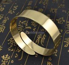 Fashion Punk Swirl Upper Arm Cuff Armlet Armband Bangle Bracelet Gift Gold