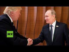 Análisis del lenguaje corporal de Putin y Trump - YouTube