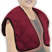 Need one of these!!!  Heat it in the microwave or put it in the freezer to relieve neck and shoulder pain.