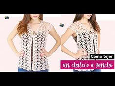 Crochet Summer Tops, Knit Crochet, Crochet Girls, Sweaters For Women, Men Sweater, Dress Skirt, Tunic Tops, Knitting, Pattern
