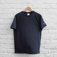 Champion Basic Crew T-Shirt - Navy