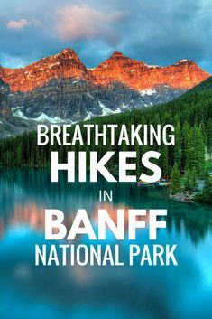 Banff National Park is home to dozens of incredible trails to hike on. If you're looking for the perfect outdoor vacation in Canada, try these hikes in Banff National Park! banff national park banff canada things to do in banff national park banff