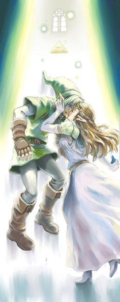 The Legend of Zelda: Ocarina of Time. And this picture... should explain... why Navi left. :(