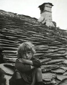 Valgrana, Piedmont, 1963 by Clemens Kalischer (German photo-journalist and art photographer, b. 1921).