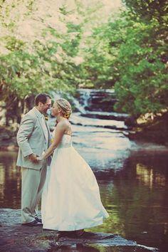 Megan & Jon #puremichigan #upperpeninsula #waterfall #love
