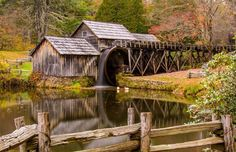 Appalachian Mountain People & Places 3 hrs ·    Mabry Mills in VA Rt. 81  Mill