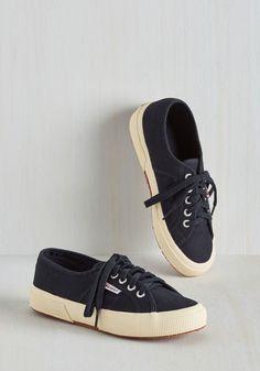 Active Kindness Sneaker in Navy.