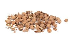 The outer hard shell covering of walnuts gives a very strong colour that can dye your hair a dark brown. Crush the walnut shells and immerse them in boiling water, and boil well for about half an hour. Cool the liquid, strain it and using a cotton ball, apply the liquid over the part of hair you want to dye. Allow to stay on hair for at least one hour and then rinse out using a mild shampoo and water.This liquid is a very strong dye and will stain everything it comes into contact with.Be…