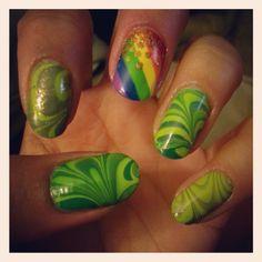 jillybean_89 ST. PATRICK 'S DAY #nail #nails #nailart