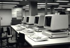 Zürich, ETH Zürich, Hauptgebäude (HG), Hauptbibliothek, Katalogsaal, ETHICS Computer-Arbeitsplätze. Ans_01692-022