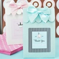 DIY Baby Shower Favors | Personalized Baby Shower Favors Tags | Baby Shower Ribbons