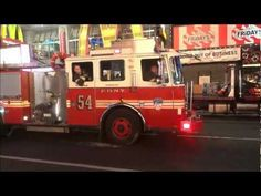 FDNY - Times Square, NYC - A Response to Major Incident on 46th and 7th. - June 2012