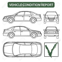 Illustration of Vehicle condition report car checklist, auto damage inspection vector vector art, clipart and stock vectors. Car Checklist, Conditioner, Condition Report, Vehicle Inspection, Report Template, Car Wash, Picture Quotes, Quote Pictures, Templates