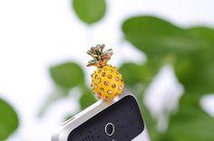 hot sell New arrive 3pcs crystal Bow 3.5mm headphone dust plug iPhone ,Samsung