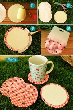 Very beautiful diy amp crafts tutorials s copos descartveis. Cd Crafts, Diy Crafts To Sell, Cute Mug, Craft Wedding, Video Games For Kids, Crafts For Girls, Easy Home Decor, Craft Videos, Craft Tutorials