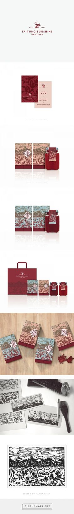 Branding, graphic design, illustration and packaging for Ruby Roselle package design on Behance by Hanna Chen Taichang, Taiwan curated by Packaging Diva PD. Taitung Sunshine lovely packaging.