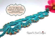 Micro Macrame Shells Tutorial With 2 Short Videos - ENGLISH VERSION on Luulla