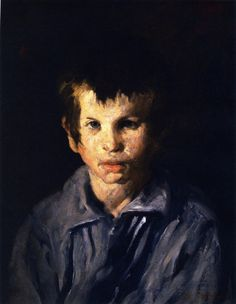 The Athenaeum - Cross-Eyed Boy (George Wesley Bellows - )