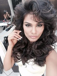 Ximena Navarette Look A-Like... Both women are Stunning...! Love me some Miss India...!