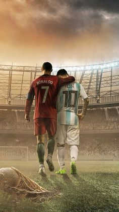 Messi and Ronaldo made many of us Love Football. World Cup 2018 Russia Cr7 Wallpapers, Lionel Messi Wallpapers, Cristiano Ronaldo Wallpapers, Messi And Ronaldo Wallpaper, Iphone Wallpapers, Football Messi, Messi Soccer, Football Is Life, Ronaldo Soccer