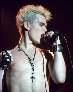 IN THE MIDNIGHT HOUR SHE CRIED ~MORE ~MORE~ AMORE' Billy Idol