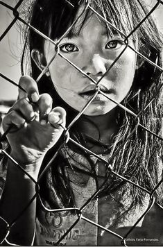 """Laos- """"She stayed looking at me during few minutes but I couldn't know what was the meaning of her bewitching eyes. Certainly a lot of curiosity to see a stranger going so deep in her country"""" Mathieu Faria-Fernandes Photography Beautiful Eyes, Beautiful People, Too Faced, Interesting Faces, Beautiful Children, Precious Children, People Around The World, Belle Photo, Character Inspiration"""