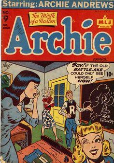 Original Archie #9 (1940s)