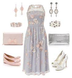 """""""Untitled #227"""" by gdhlady on Polyvore featuring Monsoon, Salvatore Ferragamo, Anne Sisteron, Blue Nile, Ted Baker, Menbur, Konstantino, Honora and Loeffler Randall"""