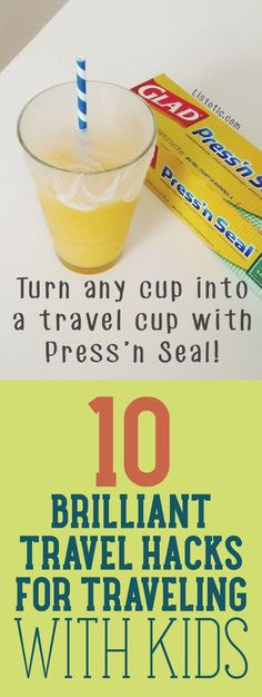10 Brilliant Travel Hacks For Traveling With Kids
