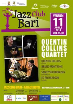 @Dordogne Jazz Summer School Trumpet Prof and world class virtuoso on tour in Italy. Learn #Jazz #Trumpet with #QuentinCollins at Chateau de Monteton, France July 26th - August 2nd 2014