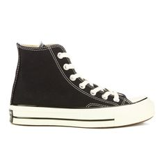 b0088543dfc2 Get Converse Chuck Taylor All Star  70 Hi-Top Trainers - Black now at