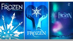 """@nytimesarts     A look at the poster that worked (and a few others that didn't) for the new Broadway """"Frozen"""" http://nyti.ms/2u8bCoD"""