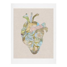 Wesley Bird You Are Here Art Print | DENY Designs Home Accessories
