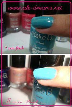 """Tokio Oriental Blue"" - Fashion Colection Make B d'O Boticário  posted at my blog ALE'S DREAMS (http://ale-dreams.net)"