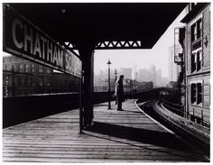 Chatham Square Platform, 2nd Av. Elevated Line, New York City