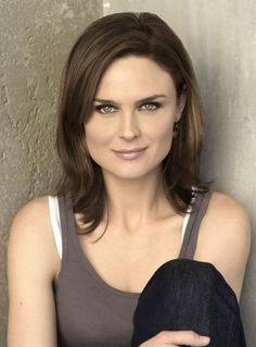 ...Emily Deschanel and Zoe, too, you're both interesting to look at, unique