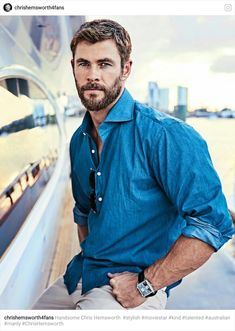 So handsome ❤️ Liam Hemsworth, Hemsworth Brothers, Elsa Pataky, Age Of Ultron, Charlize Theron, Star Trek 2009, Color Tag, Eye Color, Die Rächer