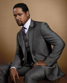 BLAIR UNDERWOOD - he has to be the hottest African American man I've ever seen. God was having a great day when he created this tall, cool drink of water.