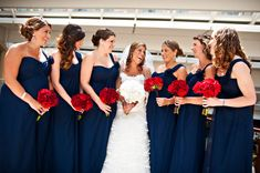 Red, white & blue & patriotic all over! A classic Washington D.C wedding ceremony!   United With Love