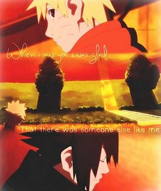 Orphans - Naruto and Sasuke