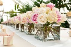 wedding table flowers - Google Search