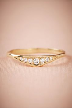 BHLDN Asterra Ring in  Bride Bridal Jewelry Rings | BHLDN