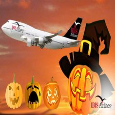 To all our trick-or-treaters…Have a Safe, Happy and Spooky #Halloween #IBISAirlines