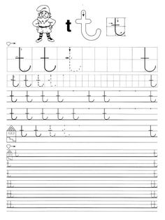 Fotó: Tracing Worksheets, Alphabet Worksheets, Preschool Worksheets, English Language Learning, Home Learning, Fine Motor Skills, Kids Education, Letters, Activities