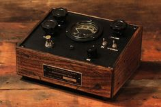 """""""Antique"""" fuzz pedal by Retro Mechanical Labs, hand built in Portland, OR"""